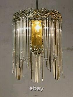 1900-1950 Sofar Hector Guimard Lustre Art Nouveau Deco Wiener Werkstatte