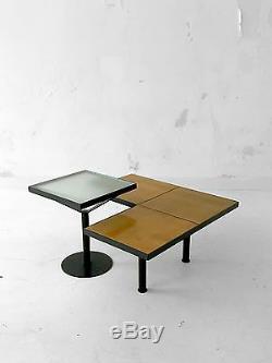 1980-1990 Table Basse Moderniste Bauhaus Memphis Constructiviste