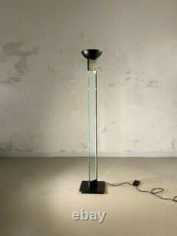 1980 MAX BAGUARA LAMPERTI LAMPADAIRE POST-MODERNISTE MEMPHIS Arteluce Stilnovo