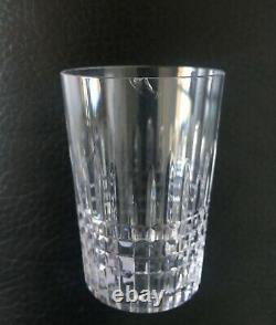 Baccarat Nancy 12 Flat Tumbler Crystal Glasses Gobelet Cristal Taillé Art Deco