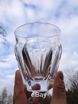 Baccarat Talleyrand 6 Wine Glasses Gobelet Verre A Vin Cristal Taillé Art Deco B