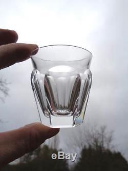 Baccarat Talleyrand Saké Set Shot Glasses Service Verre A Liqueur Cristal Taillé