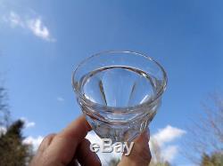 Baccarat Talleyrand Wine Glasses Gobelet Verres A Vin Cristal Taillé Art Deco
