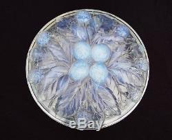 Boîte Grande Bonbonnière Etling France en Verre Opalescent vase lalique sabino