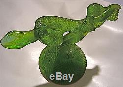 DAUM Serpent pâte de verre Daum