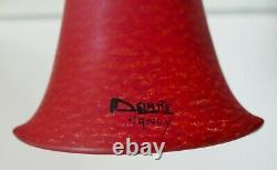 Delatte Nancy tulipe art déco pâte de verre pour lustre lampe Era Muller DAUM