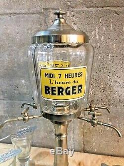 Fontaine à Absinthe Midi 7 heures, l'Heure du Berger