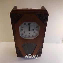 Horloge carillon clock chime type ODO art nouveau déco 1920 1930 XXe