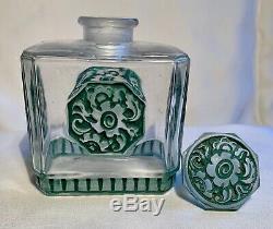 Julien Viard Flacon A Parfum Art Deco Vintage Perfume Bottle Art Nouveau 1920