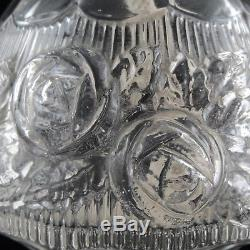 LAMPE BERGER PARIS Ancienne, Verre Moulé ART DECO, 1930 Glass Design/baccarat