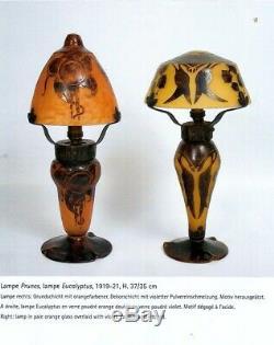 Lampe Art déco Verre Français