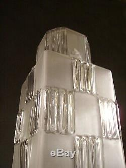 Lampe Building Moderniste Art Deco Skyscraper Gratte-ciel 1930