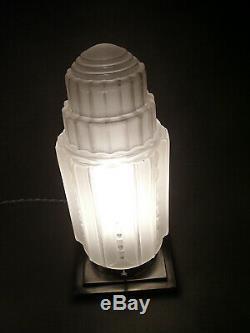 Lampe Building Moderniste Art Deco Skyscraper J. Robert Gratte-ciel 1930
