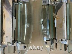 Luminaire applique design art deco Veca fontana Arte verre Murano