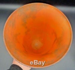 MULLER Frères luneville-chapeau lampe pate de verre art deco-daum, schneider, argy