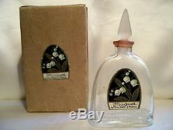 Maubert Muguet Flacon De Parfum Art Deco 1927 Vintage Perfume Bottle