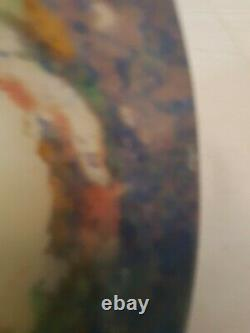 Muller Globe Ou Obus Verre Colore