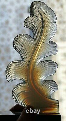 Paire De Serres Livres époque Art Déco 1930 verre opalescent Era Sabino Verlys