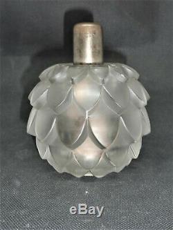 R Lalique Lampe Berger Diffuseur Parfum Verre Perfume Lamp Diffuser Art Déco