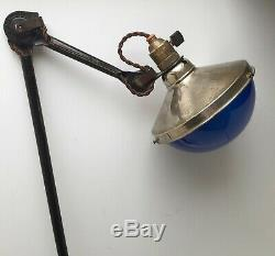 Rare réflecteur lampe Gras ILRIN NIVAL Art Deco Bauhaus Reflector Lamp GRAS 1920