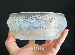 René Lalique Coupe Primevères Vase Verre Opalescent Art Déco