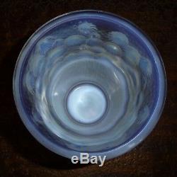 Sabino France vase en verre opalescent 1930's