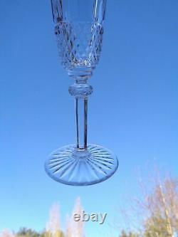 Saint Louis Tommy 4 Fluted Glasses Sektgläser Flute A Champagne Cristal Taillé C