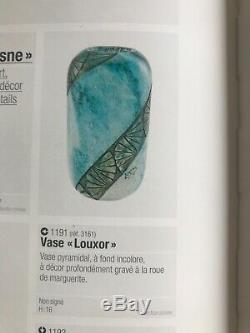 Vase Pate De Verre Legras Art Deco Grave A L'acide + A La Roue Acid Etched Cameo